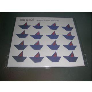 Pia Fraus Ten Remixes of Yenissey CD 愛沙尼亞 Shoegaze noise pop teenage fanclub bill wells future pilot aka