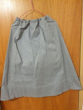 🚚 Bluelish Grey long Skirts