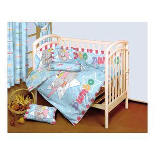 J-TEX Disney dumbo 迪士尼小飛象嬰兒床品12件套裝 2019年新款 床上用品 床圍 baby infant bedding set