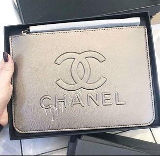 Chanel Vip Gift Clutch Bag 🎁