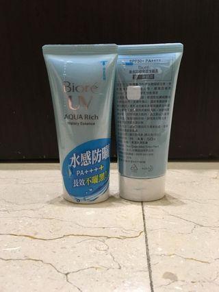 🚚 Biore 含水防曬保濕水凝乳 全新 過期