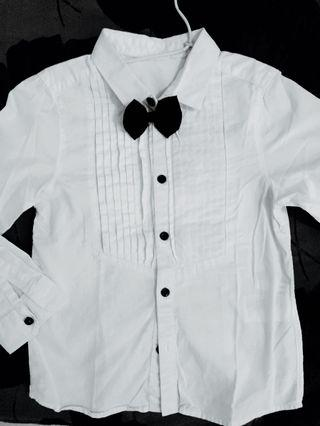 H&M bow shirt