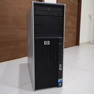 HP Z400 Workstation, Intel Xeon X5675, 6 Cores 12 Threads, 3.06GHz, 3.4Ghz Turbo, 12GB ECC RAM, nVIDIA Quadro 2000, 300 GB Intel Enterprise SSD, Windows 10 Professional