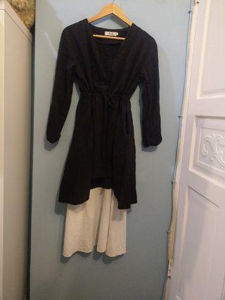 🚚 兩件式氣質長裙