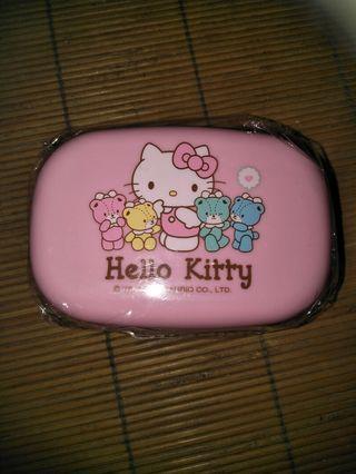 (Hello Kitty_圓形肥皂盒)