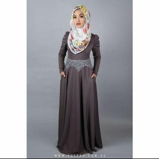 Ruched Dress by Sufyaa