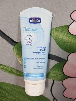 🚚 Chicco liquid talc