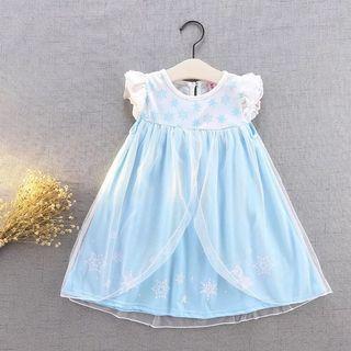 女童公主裙 Elsa 新款