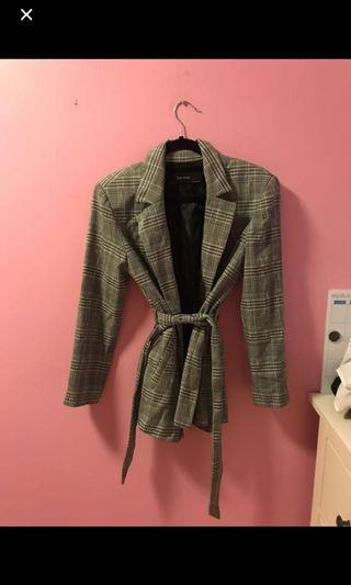 Zara Striped Blazer Size Small
