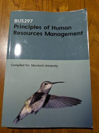 BUS297 principles of human resource management