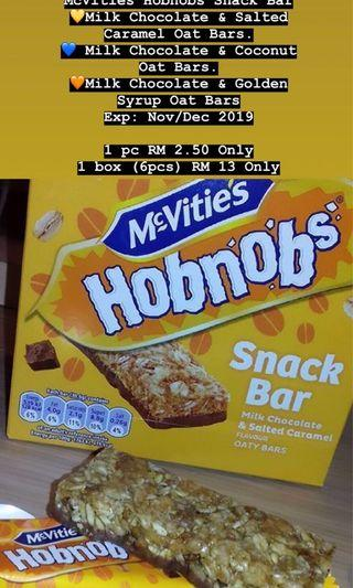 McVities Hobnobs Snack Bar (Oat Bar)