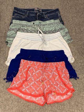 Seed/various shorts bundle sz8