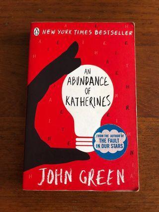 🚚 An Abundance of Katherines