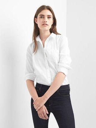Gap White Dress Shirt