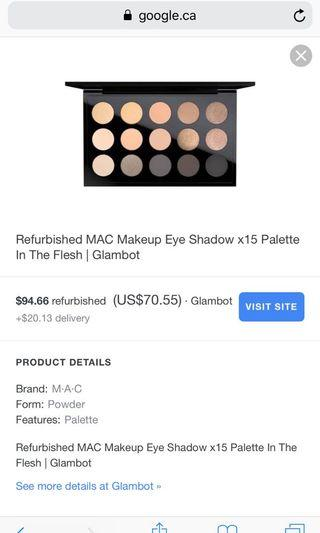 Mac in the flesh palette