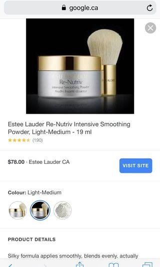 Estée Lauder powder