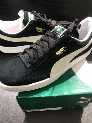 PUMA麂皮滑板鞋