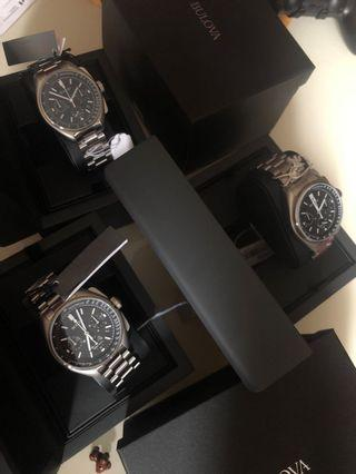 Bulova Lunar Moon watch