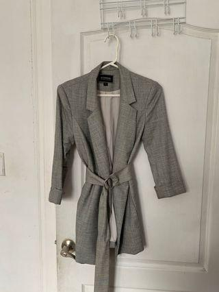 Le chateau belted blazer/dress