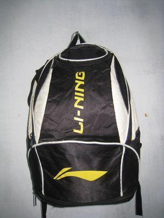 LI-NING original ransel sport