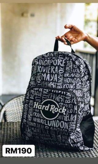 Hard rock bag