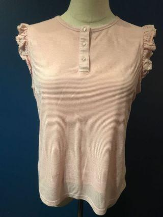 Pink top from L'izzie