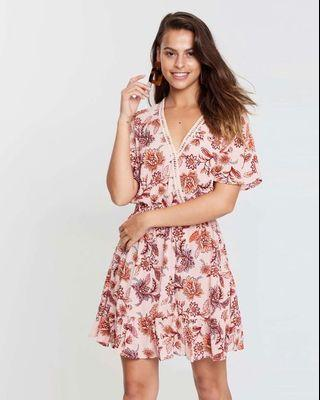 Mink Pink Havana Dress M