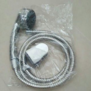 Brand New Stainless Steel Shower Head + Pipe & Holder