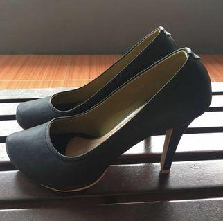 High Heels Black 9cm