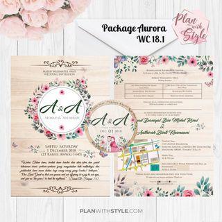 Wedding Package Aurora WC18.1