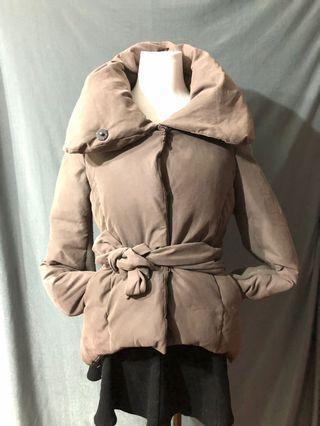 啡色 保暖 外套
