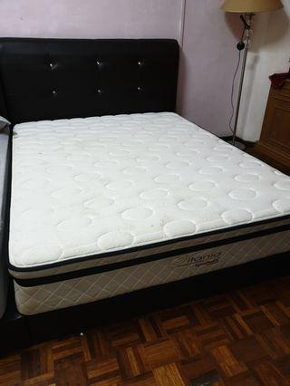 Queen Size Bed frame & 11 inch matress goodnite