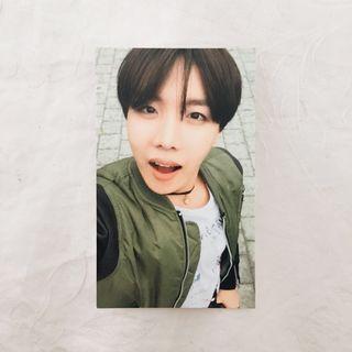 bts jhope/hoseok hyyh pt 2 photocard