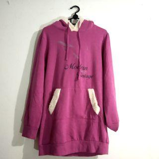Hoodie Pink / Sweater / Winter Jacket / Jaket Musim Dingin / Winter Coat