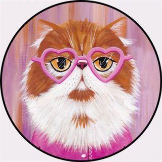 Stylist Garfield cat anti slippery carpet/rug
