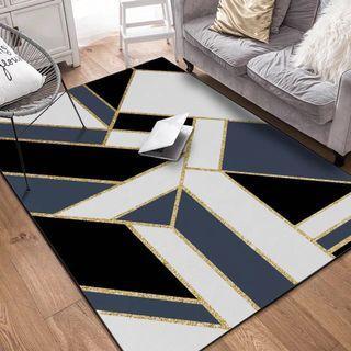 🚚 Modern geometric anti slippery carpet/rug