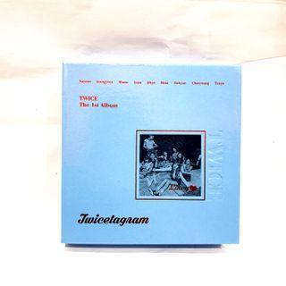 "TWICE The 1st Album ""TWICETAGRAM"""