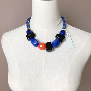 COS Trendy Mixed Shape Necklace