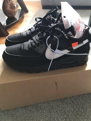 Off White air max 90s size 7