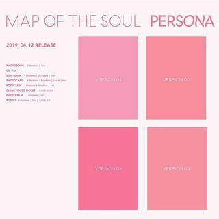 [WTB/LF] BTS MAP OF THE SOUL: PERSONA version 2/3 album