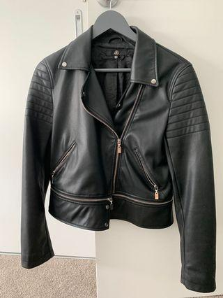 Misguided leather jacket