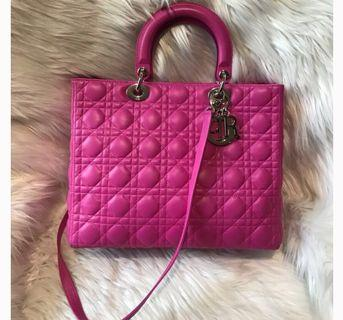 Price reduced 🔥Lady Dior large in Lambskin