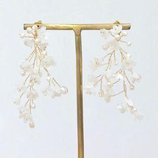 Norahs design Wedding earrings rental 結婚耳環租賃