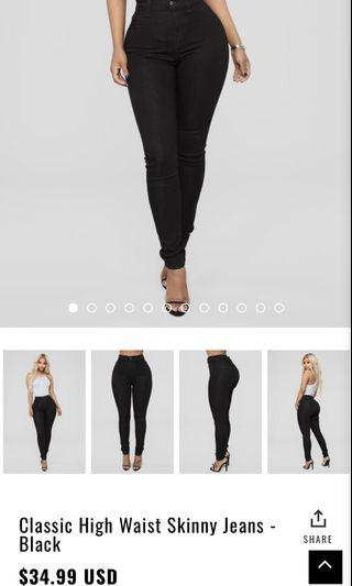 Fashion nova jeans (read description)