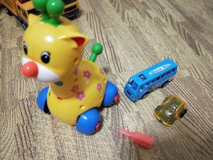 🚚 拆裝玩具 迴力車