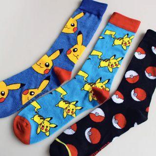 Three Pairs of Pokemon Socks!