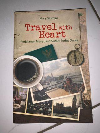 Buku Travel with Heart - Mary Sasmiro