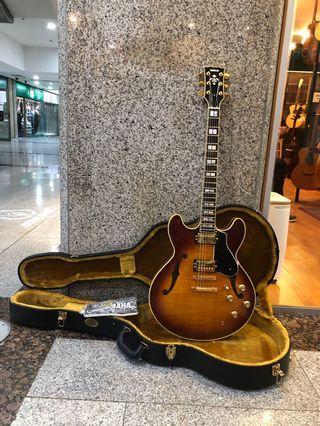 Yamaha SA2200 semi hollow guitar + original hard shell case 2014