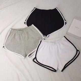 [currently n.a)BNIP runner shorts running exercise ulzzang casual safety shorts home shorts