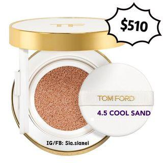 TOM FORD 柔光水瀅白氣墊粉餅 (4.5 COOL SAND) GLOW TONE UP FOUNDATION SPF 40/PA+++ HYDRATING CUSHION COMPACT 12g